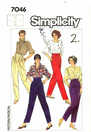 Simplicity 1985 7046