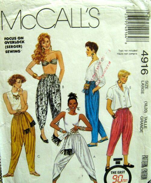 McCalls 4619