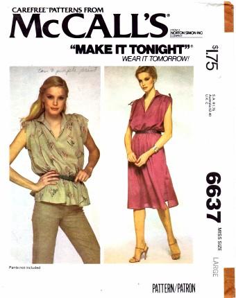 McCalls 6637