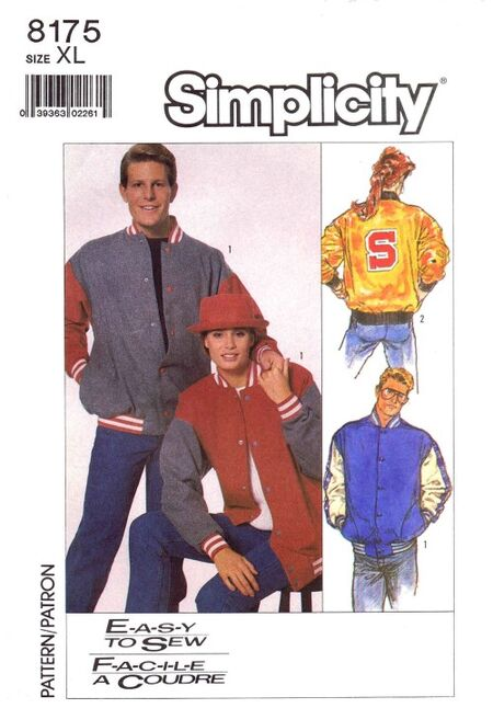 Simplicity 1987 8175 F Size 42 - 44