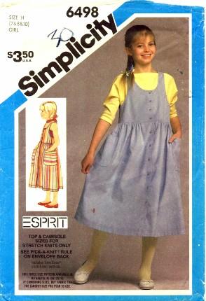 Simplicity 1984 6498