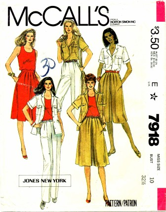 McCalls 1982 7918