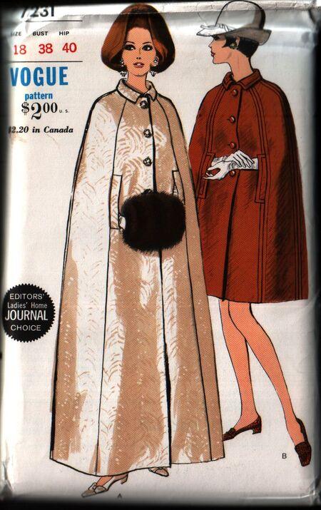 Vogue 7231 front