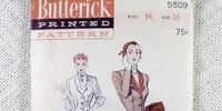 Butterick 5509 A