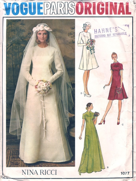 Vogue 1077 B Vintage Sewing Patterns Fandom Powered By