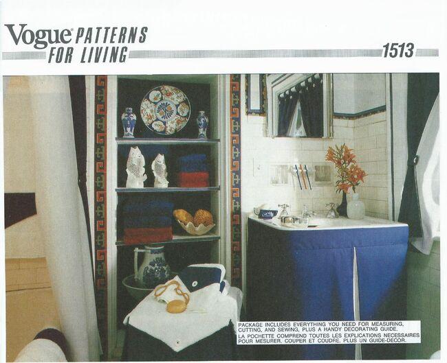 Vogue 1513 front