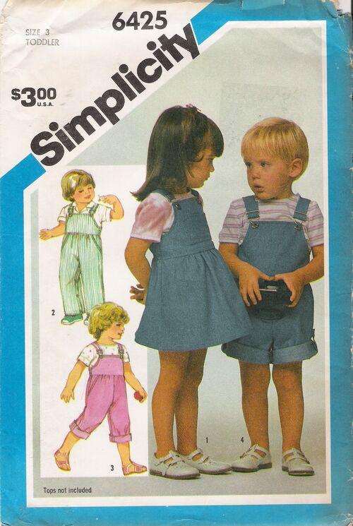 Simplicity 6425 image