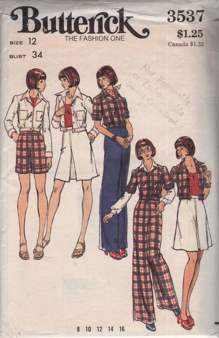 Butterick 3537 image