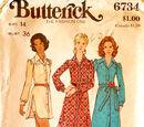 Butterick 6734 B