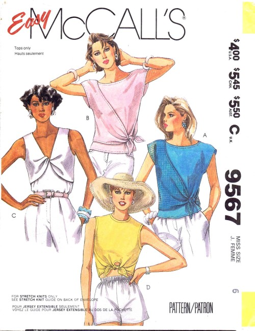McCalls 1985 9567