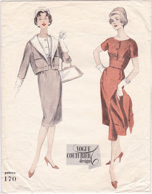 Pattern - Vogue 170 02