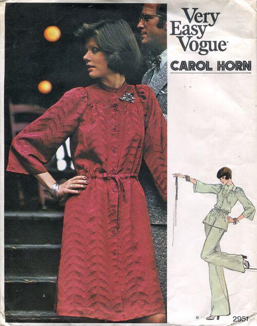 Vogue2951horn