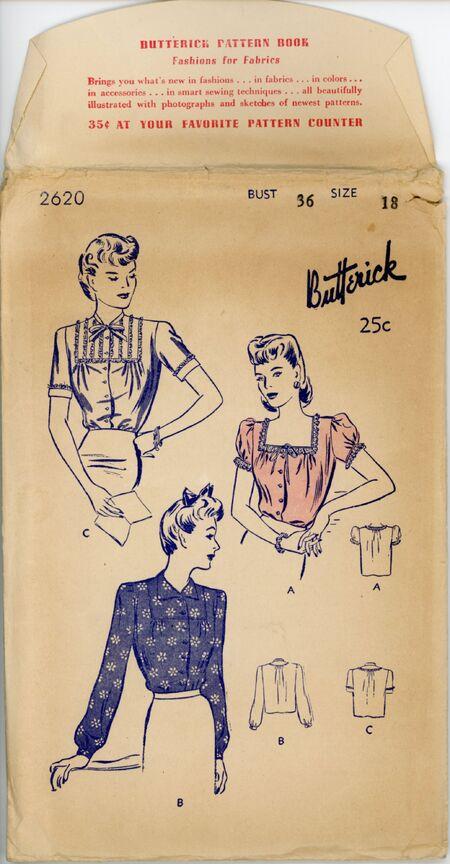 Butterick 2620545