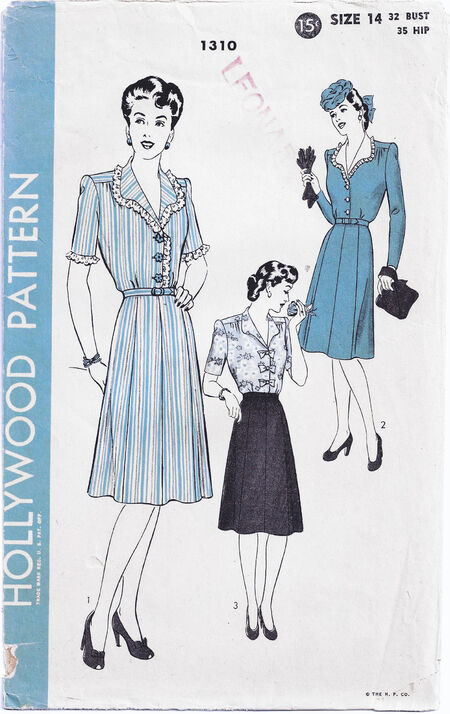1942 Hollywood Pattern cropped