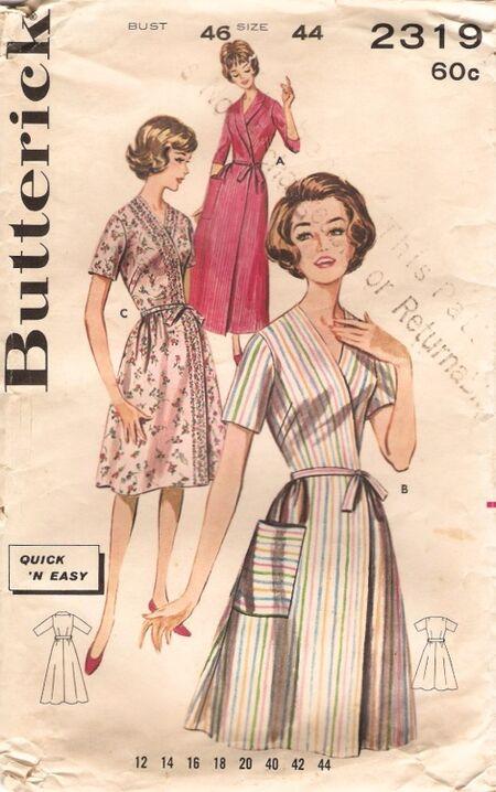 Butterick 2319 60s