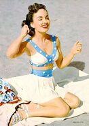1950s Advance 5516 Playsuit Swimsuit pattern