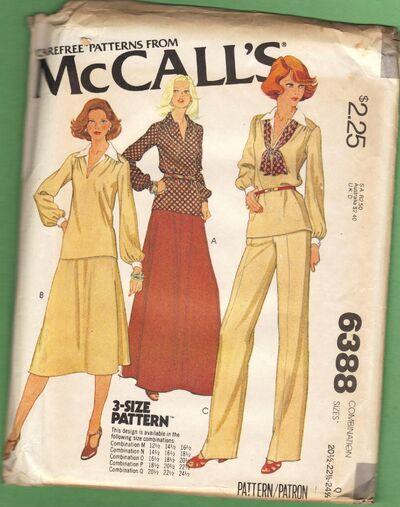 McCall's 6388