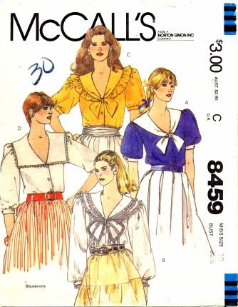 McCalls 1983 8459