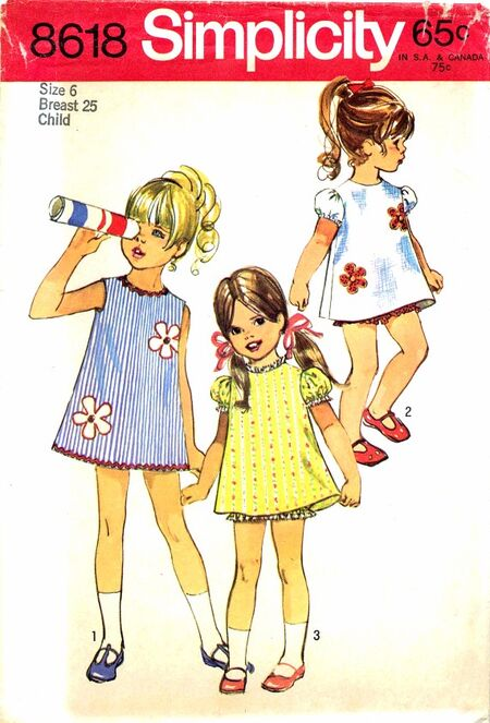 Simplicity 1970 8618