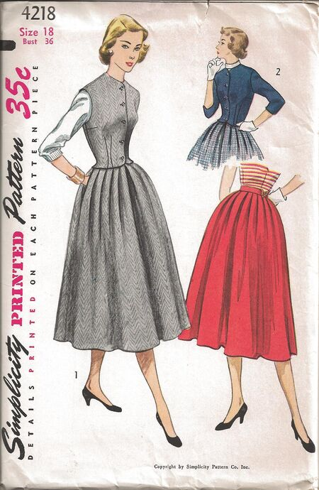 Simplicity Pattern 4218 Front