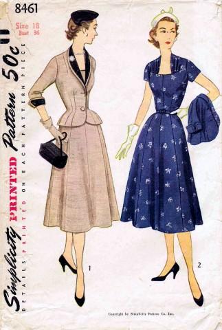 Simplicity 1951 8461