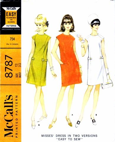 McCalls 1967 8787