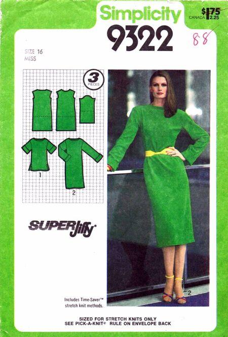 Simplicity 1979 9322 A