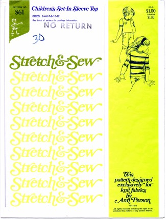 Stretch & Sew 861