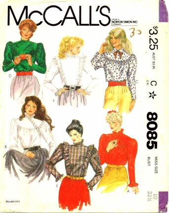 McCalls 1982 8085