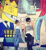 Tini and Fran in Berlin