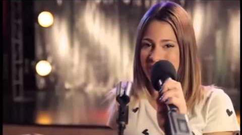 Violetta En mi mundo, versión acústica Martina Stoessel, Jorge Blanco, Lodovica Comello