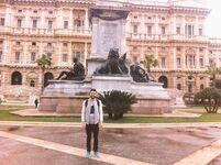 Pablo en Roma