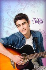 Tomas' guitar