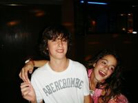 Young Tini and someone