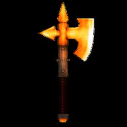 Chaos axe.bronze skin.preview