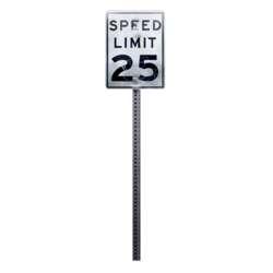 Sign 25mph preview