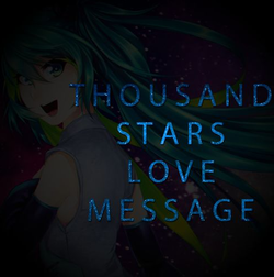 Thousand Stars Love Message
