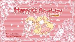 HappyX2 Birthday
