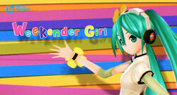 Kz ft. Miku - Weekender Girl