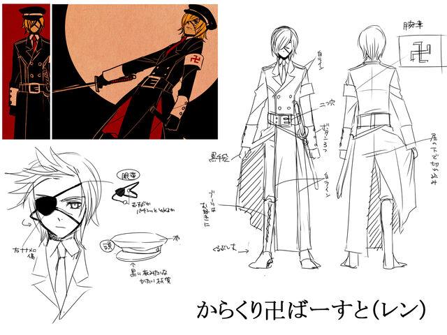 File:Concept art Karakuri Burst Len.jpg