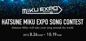 Mikuexpo song banner 2015