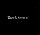 Pequeña Romanza
