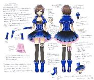 Blue crystal concept