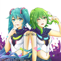 Drum & bass & vocaloid two