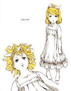 Meltdown Little Rin Concept Art