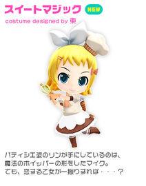 Costume sweet
