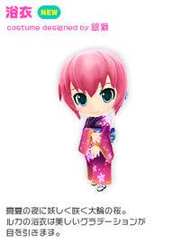 Costume yukata luka