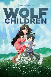 Wolf Children 2012 Poster