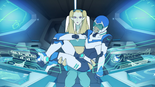 115. Nyma and Lance inside Blue's cockpit