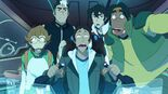 Team Voltron in Space